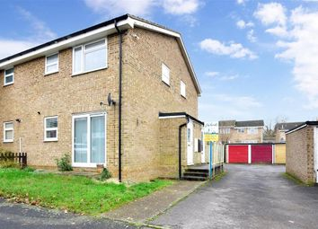Thumbnail 1 bed end terrace house for sale in Dogwood Close, Lords Wood, Chatham, Kent
