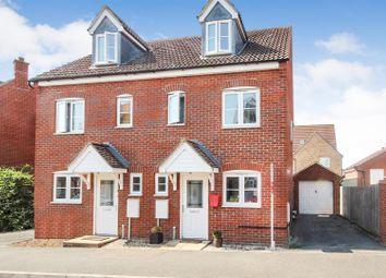 Pedley Way, Bedford, Beds MK41. 3 bed semi-detached house for sale