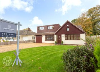 Thumbnail 5 bed detached house for sale in Fowley Common Lane, Glazebury, Warrington