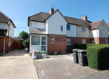 Thumbnail 3 bed semi-detached house for sale in Wallett Avenue, Beeston