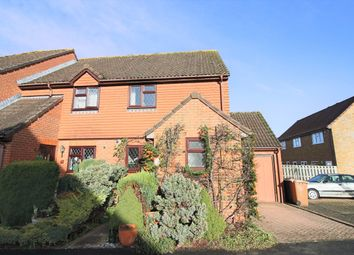 Thumbnail 3 bed semi-detached house to rent in Brackenbury, Andover, Hampshire