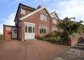 Thumbnail 3 bed semi-detached house for sale in Beech Hill Drive, Mansfield
