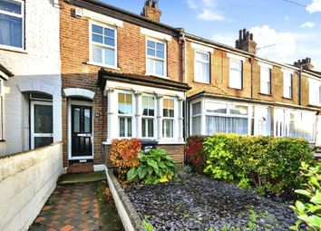 Thumbnail 3 bed terraced house for sale in Milton Street, Swanscombe, Kent