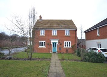 Thumbnail 3 bed detached house for sale in Costessey, Norwich
