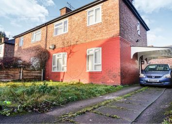 Thumbnail 3 bedroom semi-detached house for sale in Kings Crescent, Manchester