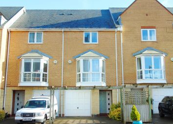 Thumbnail 4 bed town house for sale in Pierhead View, Penarth
