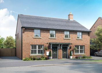 "Thumbnail 3 bed semi-detached house for sale in ""Archford"" at Broughton Crossing, Broughton, Aylesbury"