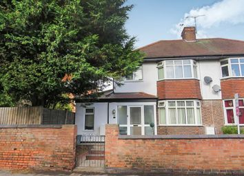 Thumbnail 3 bed semi-detached house for sale in The Banks, Sileby, Loughborough