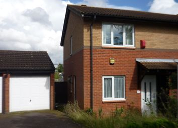 Thumbnail 3 bed semi-detached house to rent in Fairford Crescent, Downhead Park, Milton Keynes, Buckinghamshire