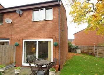 Thumbnail 2 bed town house for sale in Temple Close, Shepshed, Leicestershire