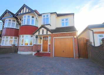 Thumbnail 5 bed semi-detached house to rent in Marlborough Avenue, Ruislip, Middlesex