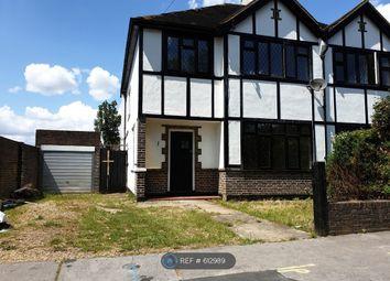 Thumbnail 3 bedroom semi-detached house to rent in Rutland Gardens, Croydon