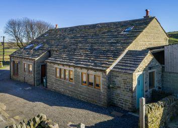 Thumbnail 4 bed barn conversion for sale in Chain Road, Holt Head, Slaithwaite, Huddersfield