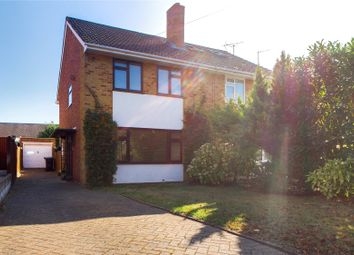 Thumbnail 3 bed semi-detached house to rent in Holmwood Avenue, Reading, Berkshire