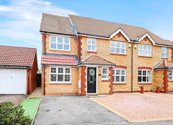 Thumbnail 4 bed semi-detached house for sale in Caspian Way, Swanscombe