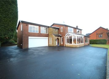 Thumbnail 5 bed detached house for sale in Brooklyn Avenue, Smithybridge, Rochdale, Greater Manchester