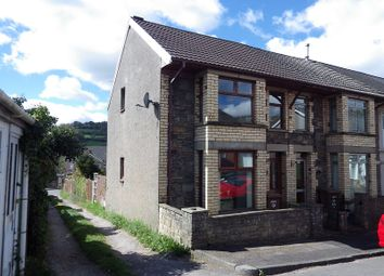 Thumbnail 2 bedroom semi-detached house to rent in Priory Street, Risca, Newport.