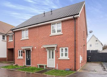 2 bed semi-detached house for sale in Crossbill Road, Stowmarket IP14