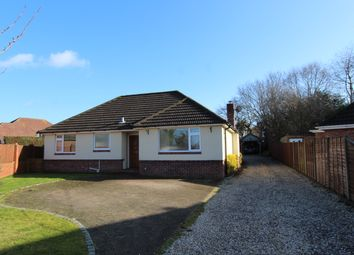 Thumbnail 3 bed detached bungalow for sale in Beverley Gardens, Bursledon, Southampton
