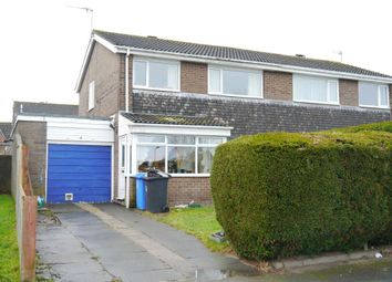 Thumbnail 3 bed semi-detached house for sale in Twizell Place, Ponteland, Newcastle Upon Tyne
