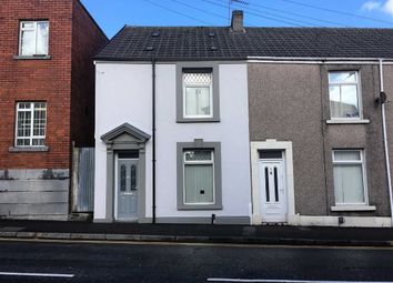 Thumbnail 2 bedroom end terrace house for sale in Beach Street, Swansea