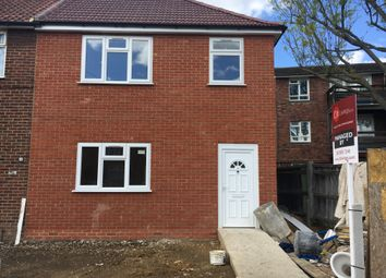 Thumbnail 3 bed terraced house to rent in Wood Lane, Romford