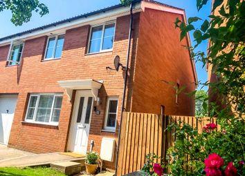 Thumbnail 3 bed semi-detached house for sale in Cottingham Drive, Pontprennau, Cardiff
