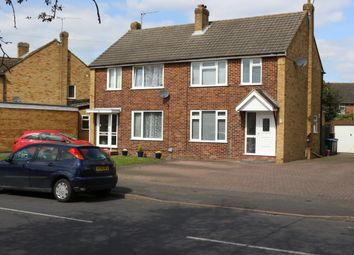 Thumbnail 3 bed semi-detached house for sale in Fullerton Road, Byfleet, Surrey
