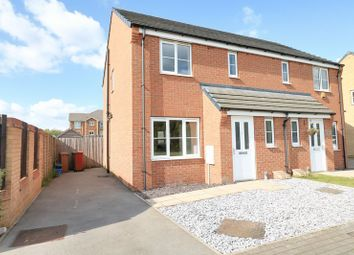 Thumbnail 3 bed semi-detached house for sale in Brambling Way, Scunthorpe