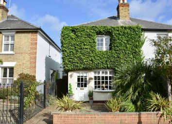 Thumbnail 2 bed semi-detached house for sale in Summer Road, East Molesey