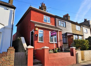 Thumbnail 2 bed end terrace house for sale in Harold Road, Sittingbourne