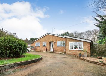 Thumbnail 3 bed detached bungalow for sale in Old School Close, Brampton, Beccles