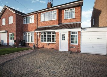 Thumbnail 3 bed semi-detached house for sale in Southfield Close, Nuneaton