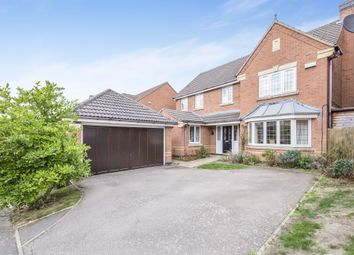 Thumbnail 4 bed detached house for sale in Shelland Close, Market Harborough