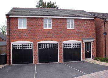 Thumbnail 1 bed flat to rent in Amblerise Close, Amington, Tamworth, Staffordshire