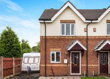 Thumbnail 2 bed semi-detached house for sale in Weston Court, Weston Coyney, Stoke-On-Trent