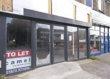 Thumbnail Retail premises for sale in East Street, Newquay