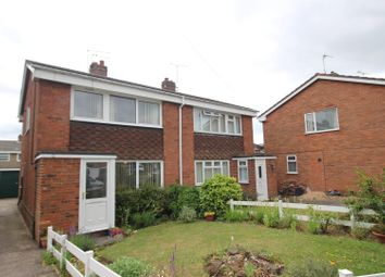 Thumbnail 3 bed semi-detached house for sale in Holly Road, Barton Under Needwood, Burton-On-Trent