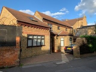Thumbnail 2 bed semi-detached house to rent in Chelmsford Road, London