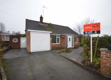 Thumbnail 2 bedroom detached bungalow to rent in Springcroft, Parkgate, Neston