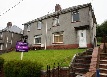 Thumbnail 3 bed semi-detached house for sale in Maesyfelin, Pontyberem, Llanelli