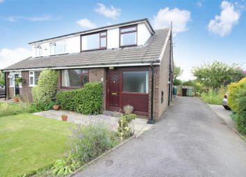 Thumbnail 3 bed semi-detached bungalow for sale in Aintree Close, Kippax, Leeds
