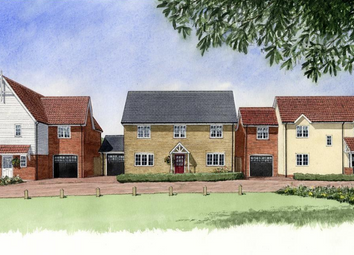 Thumbnail 4 bedroom detached house for sale in The Woodlark At Mandeville Place, Radwinter Road, Saffron Walden, Essex