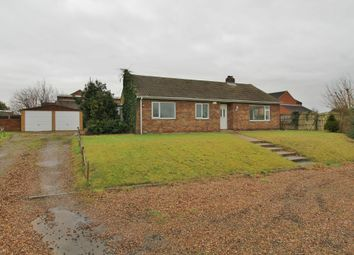 Thumbnail 3 bed detached bungalow for sale in Laughton Road, Blyton, Gainsborough