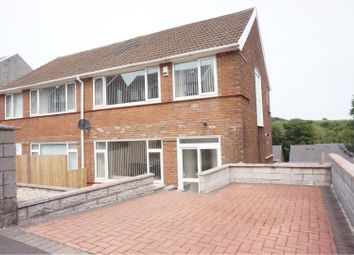Thumbnail 3 bed semi-detached house for sale in Cwmgelli Close, Treboeth