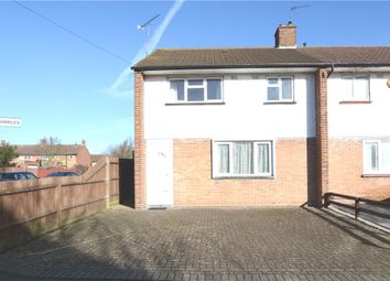 Thumbnail 3 bed end terrace house for sale in The Brambles, West Drayton