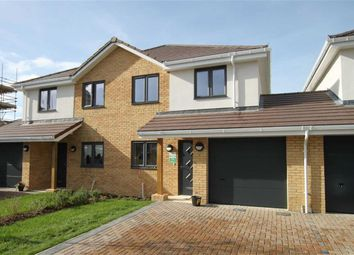Thumbnail 3 bed semi-detached house for sale in Lassells Close, Highcliffe, Christchurch, Dorset
