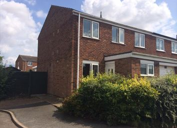 Thumbnail 3 bed semi-detached house to rent in Beverley Close, Holton Le Clay