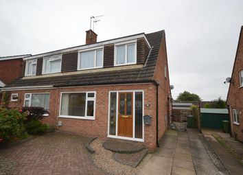 Thumbnail 3 bed semi-detached house for sale in Drummond Road, Enderby, Leicester