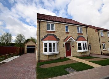 Thumbnail 4 bed detached house for sale in North Brook Close, Greetham, Oakham